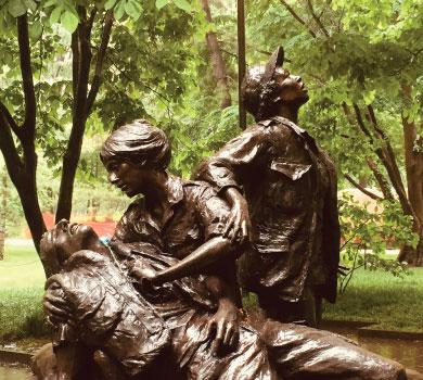 Nurses Monument in DC