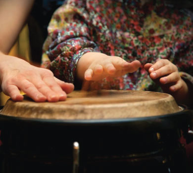 hands on percussion instrument